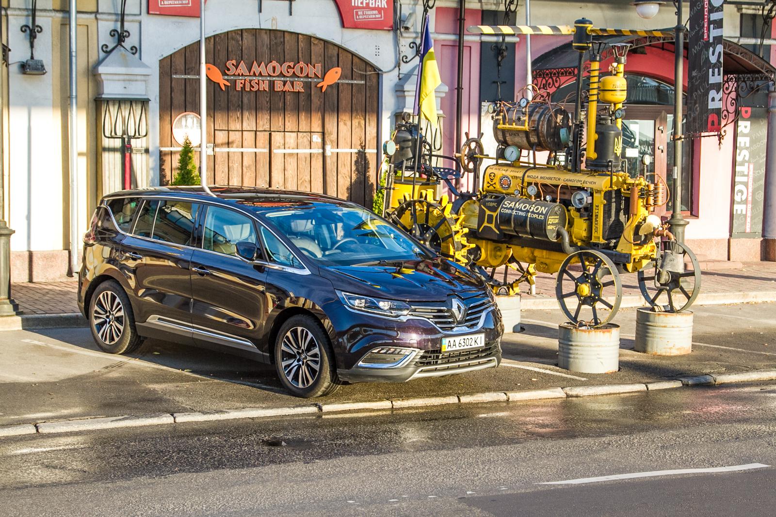 Тест-драйв Renault Espace: Семейный шаттл