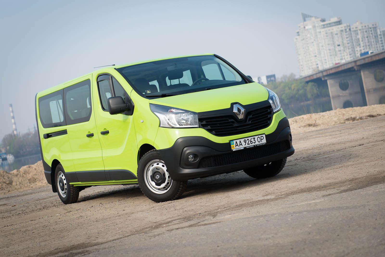 Тест-драйв Renault Traffic – Пять метров зеленого счастья