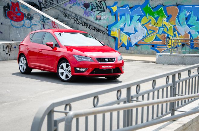 Тест-драйв SEAT Leon FR — ищем испанский темперамент в немецкой практичности