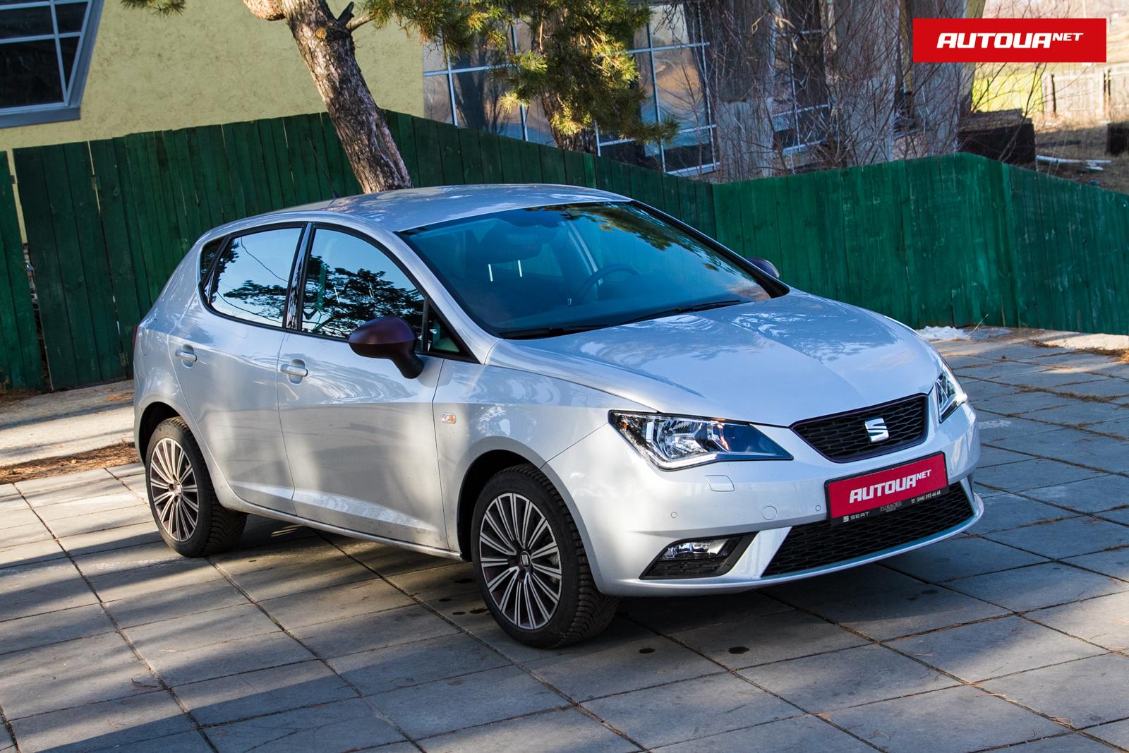 Тест-драйв SEAT Ibiza: Литр на троих.