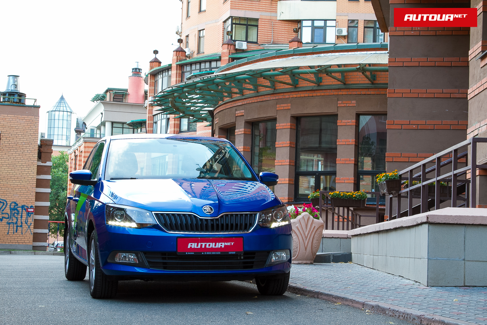 Тест-драйв Škoda Fabia — стильная горожанка!