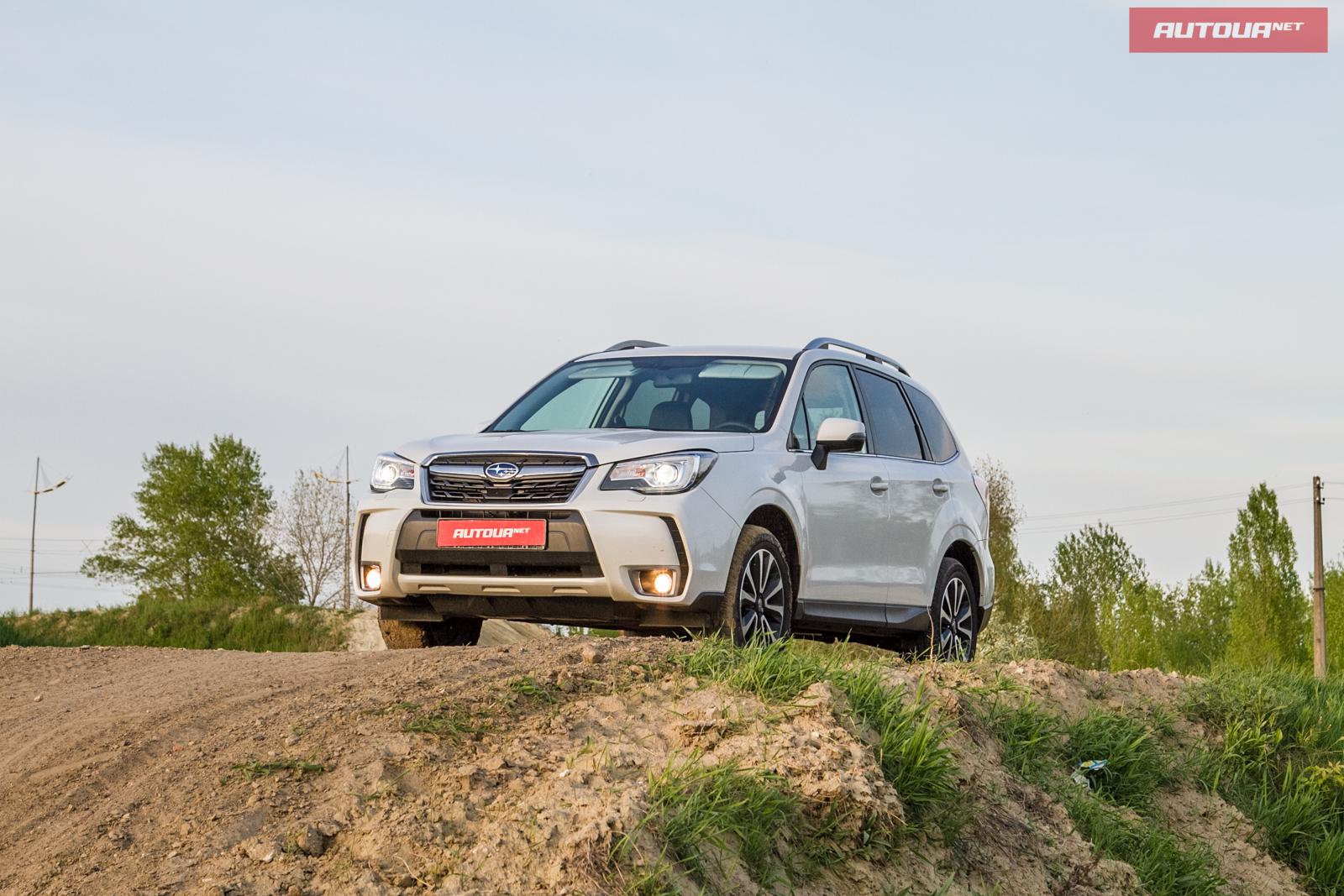 Тест-драйв обновленного Subaru Forester: Что же в нем изменилось?