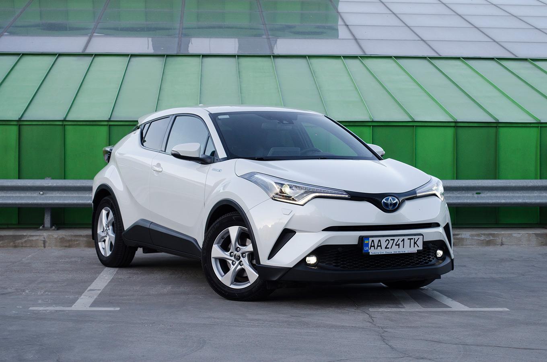Тест-драйв Toyota C-HR Hybrid