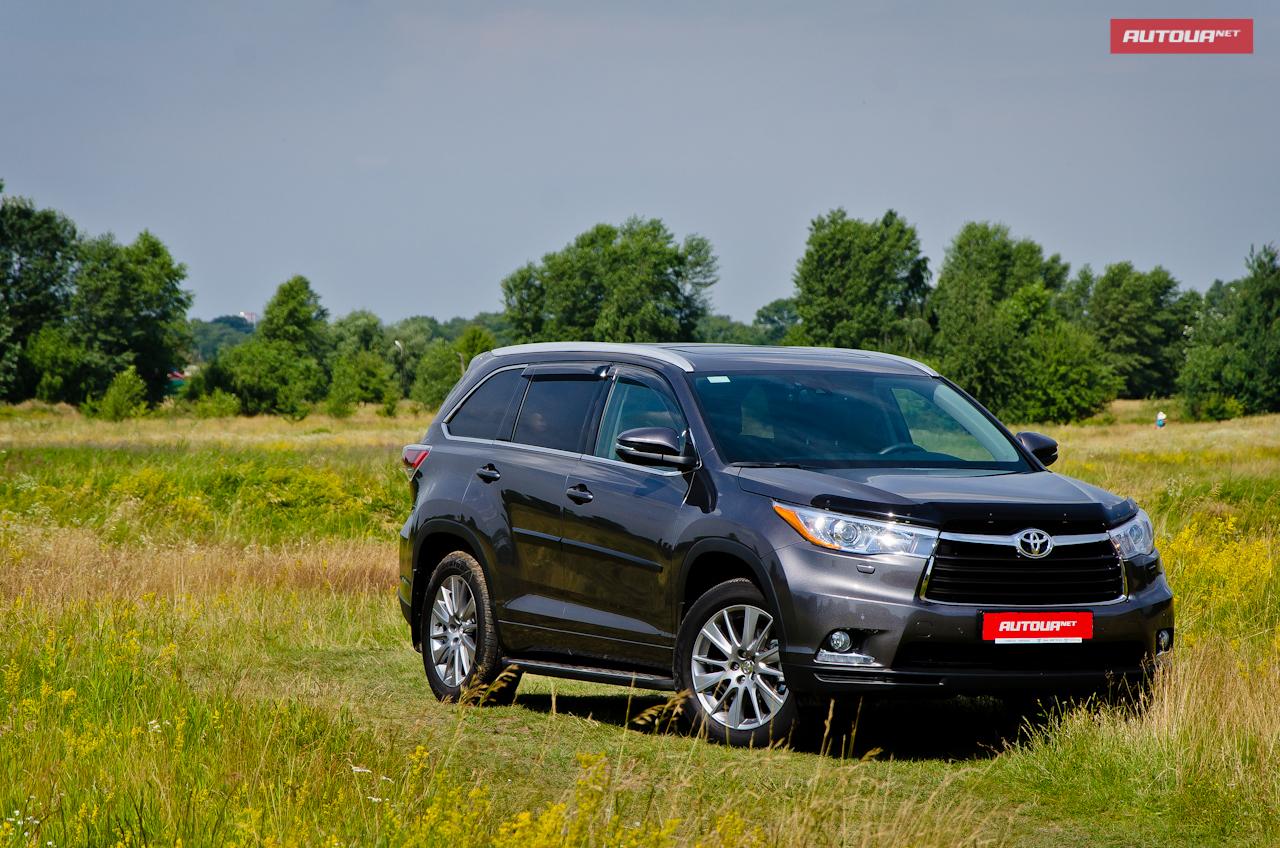 Тест-драйв Toyota Highlander — качественный скачок