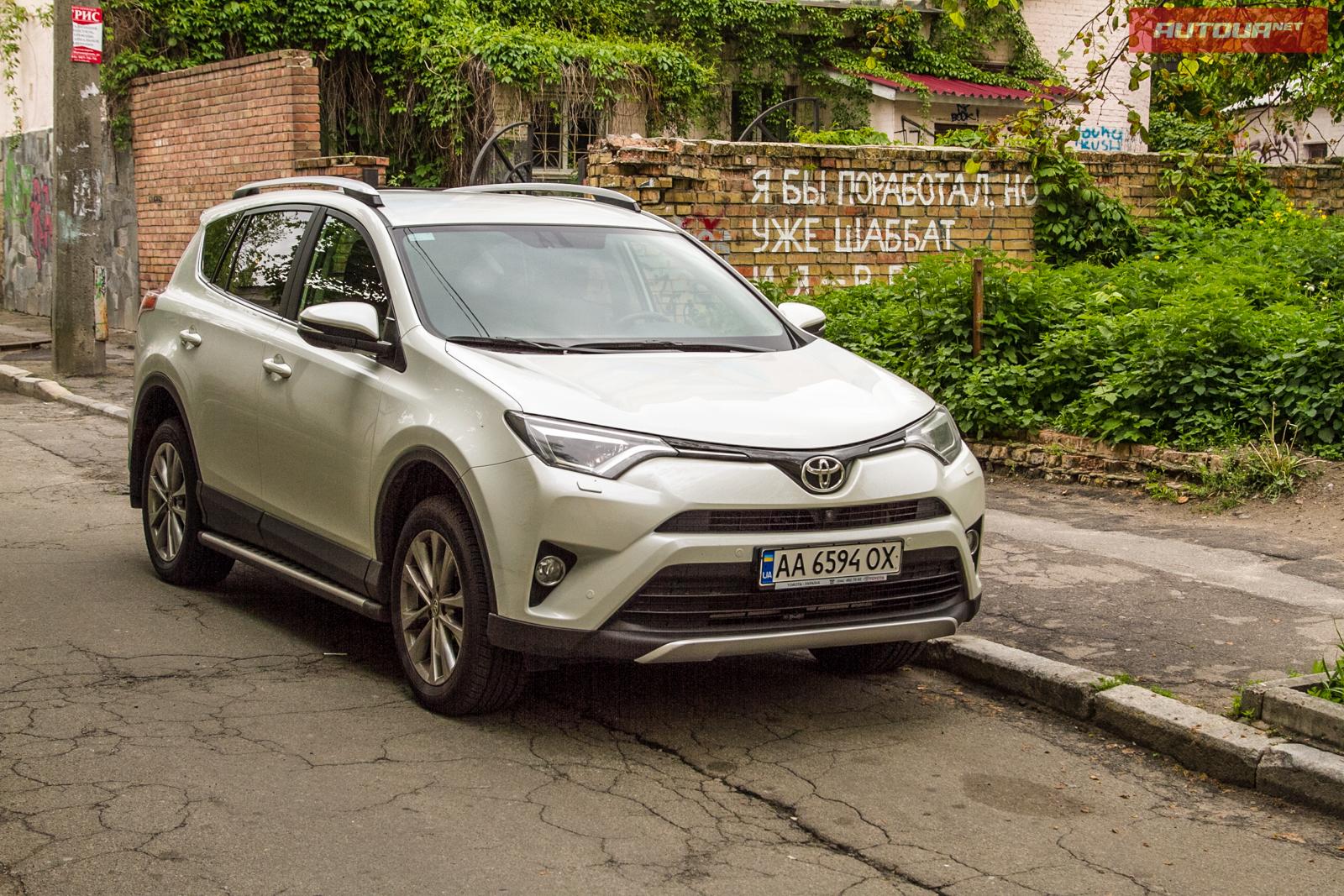 Тест-драйв Toyota RAV4: В чем секрет успеха?