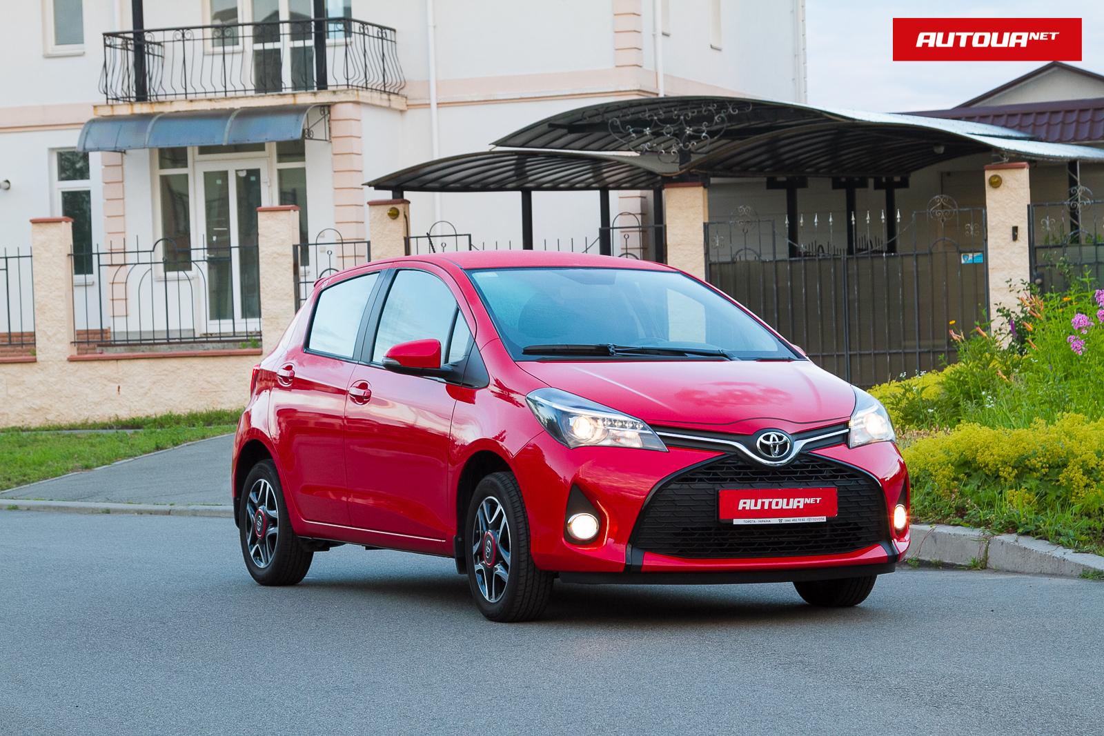 Тест-драйв Toyota Yaris: на лицо ужасная, добрая внутри!
