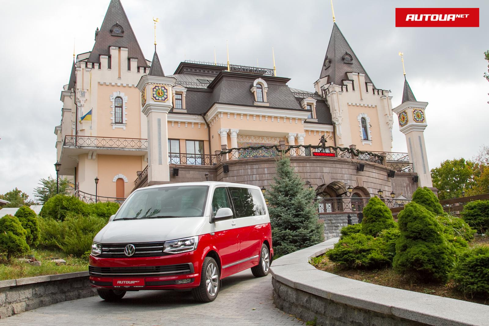Тест-драйв Volkswagen Multivan: сказочный фургон.