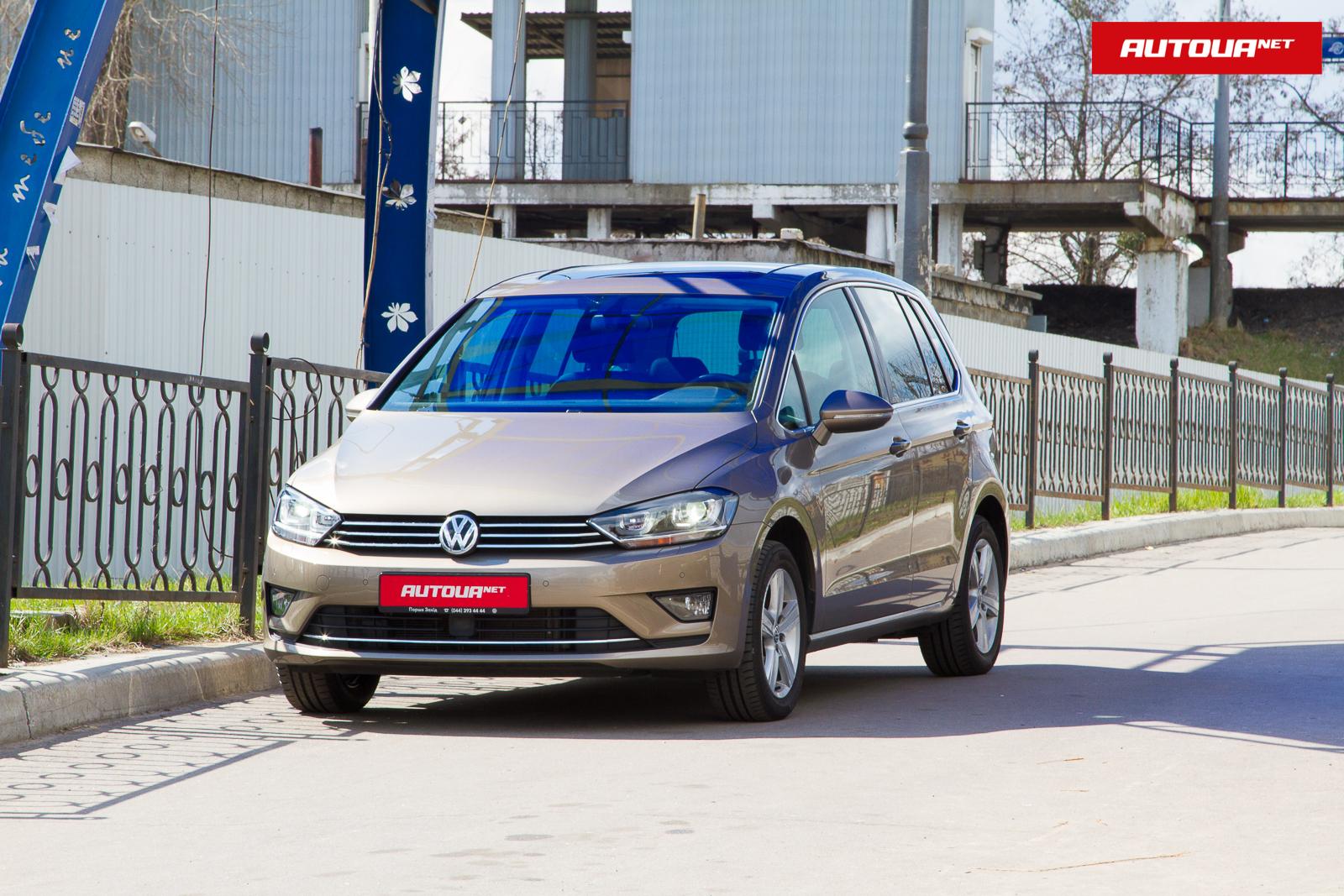 Тест-драйв Volkswagen Golf Sportsvan: есть ли спорт в дизельном вэне?
