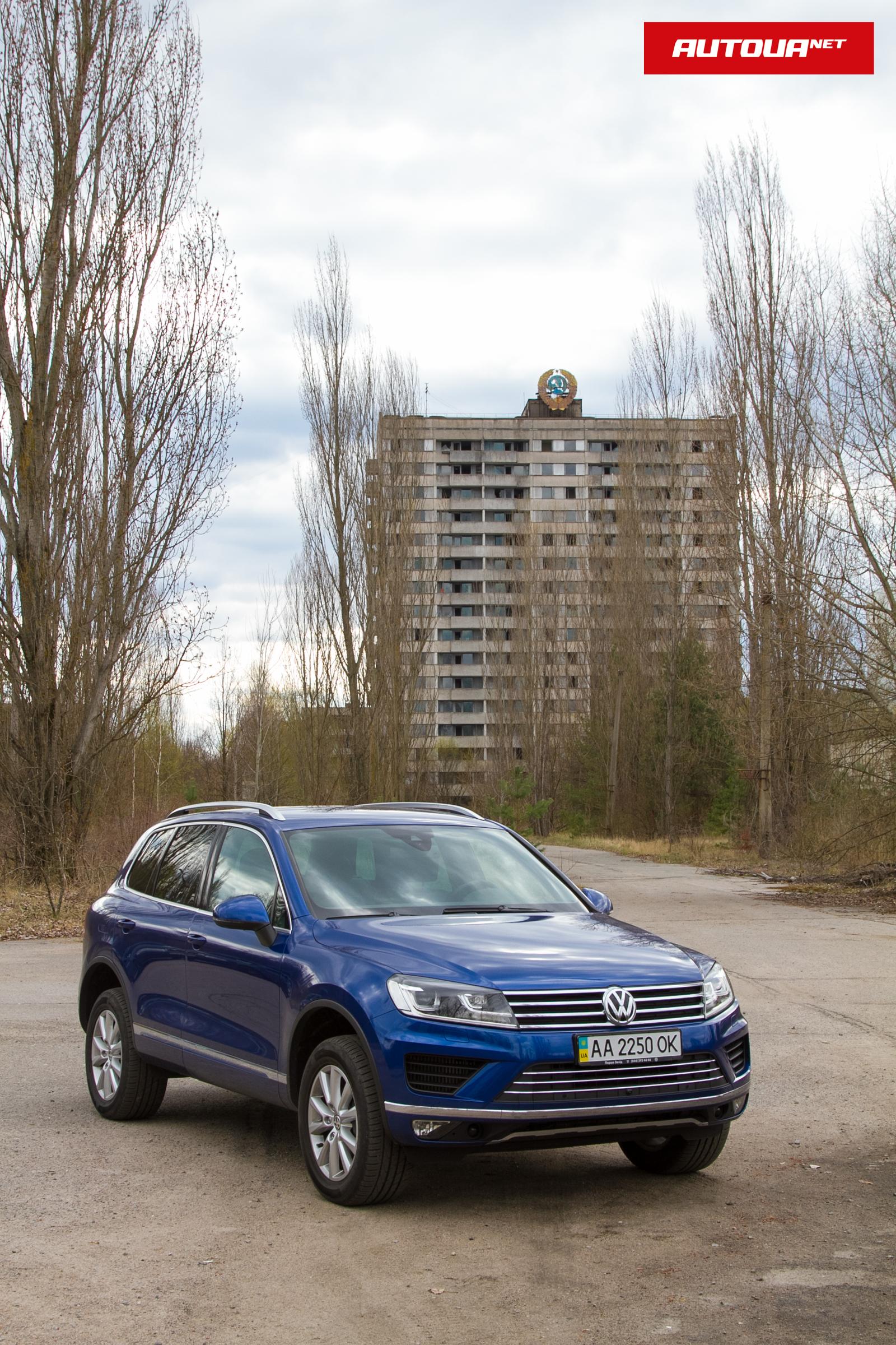 Тест-драйв Volkswagen Touareg: едем в Чернобыльскую зону!