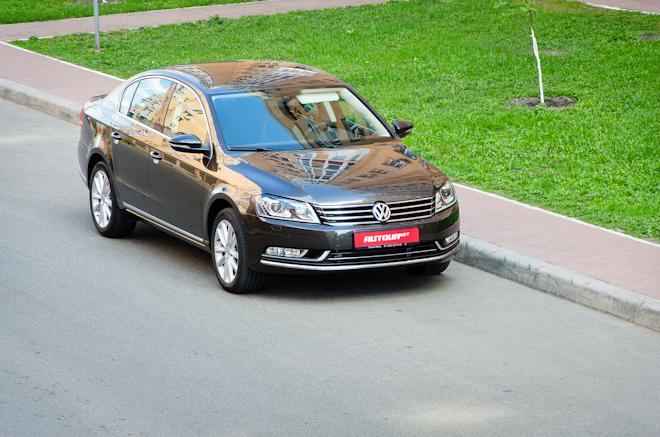 Тест-драйв Volkswagen Passat — дизельная солидность
