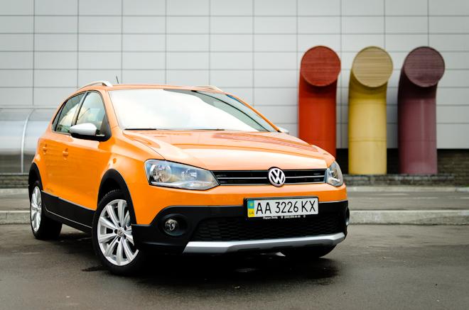Тест-драйв Volkswagen CrossPolo — зажигательный псевдокроссовер