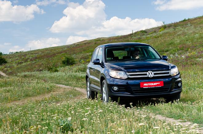 Мини тест-драйв Volkswagen Tiguan 1.4 TSI BlueMotion — проверяем экономичность самого дешевого «Тигуана»