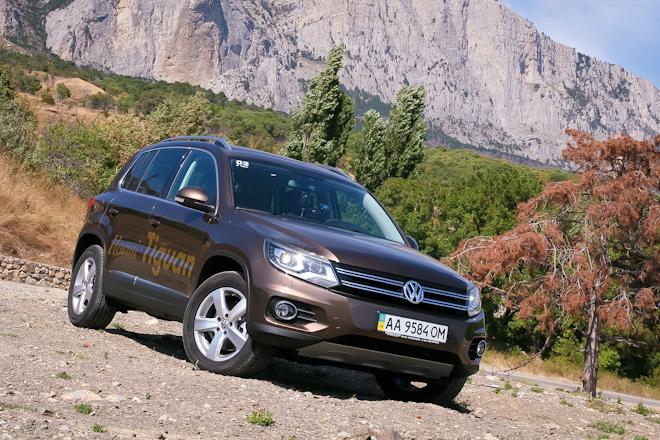 Первый тест-драйв — знакомимся с обновленным Volkswagen Tiguan на горных серпантинах Крыма